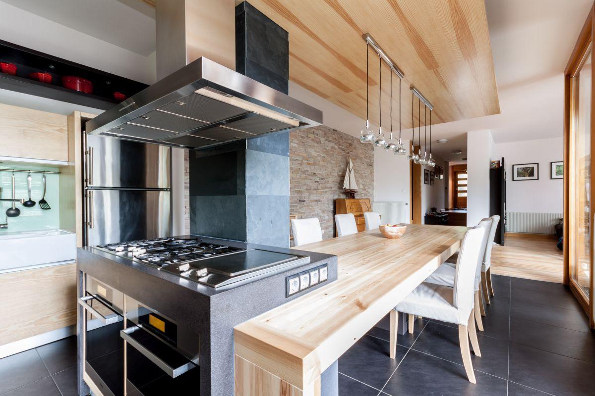 Nagykovácsi konyha-étkező - Kajdócsi Építész Stúdió